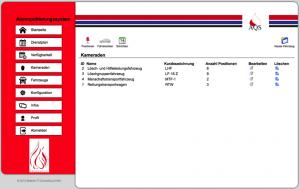 Abbildung 8: Administration der Fahrzeuge